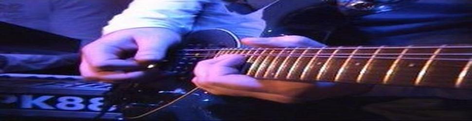 Gitarrenunterricht- Tourneen, Showcase Gigs- Wolfgang Abeska Gitarrist Musiker