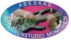 Gitarrenlehrer Gitarren-Unterricht Kurse, Gitarren-Studio Abeskas München
